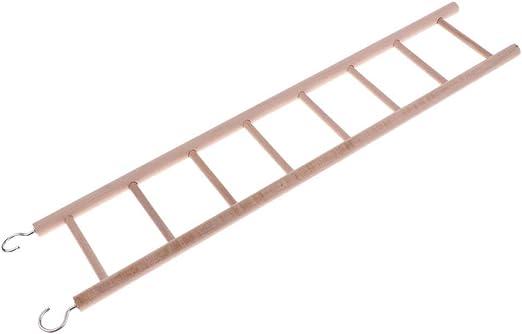 Escalera de 8 escalones de madera