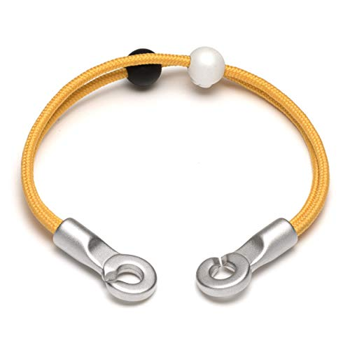 Lokai Double Hook Bracelet, Canary, 6.5