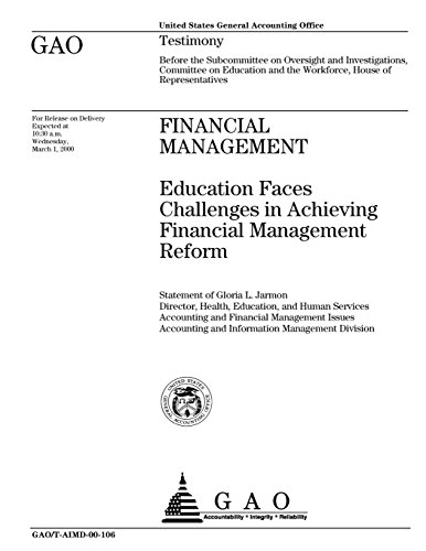 Financial Management: Education Faces Challenges in Achieving Financial Management Reform
