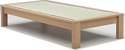 畳ベッド シングル ベッド ヘッドレスタイプ SUMIKA (ナチュラル) B00WD7AQQ6 ナチュラル
