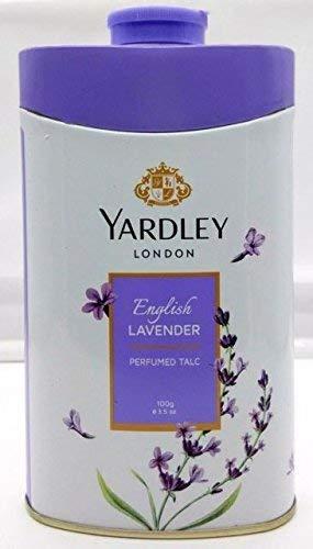 - Yardley London Perfumed Talc, English Lavender 8.8 Oz (250 G)