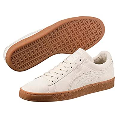PUMA Adult's SUEDE CLASSIC NATURAL WARMTH Trainers, Beige