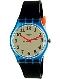 310302908bb Originals Back to School White Dial Silicone Strap Unisex Watch GS149.  Swatch