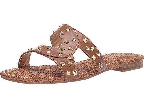 Price comparison product image Circus by Sam Edelman Women's Betty-1 Flat Sandal Saddle Smooth Atanado Veg 8 M US