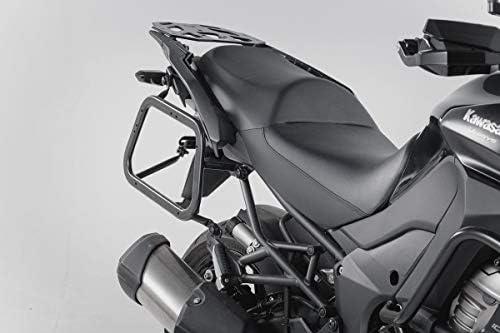 Sw Motech Evo Kofferträger Quick Lock Funktion Schwarz Für Kawasaki Versys 1000 15 Auto