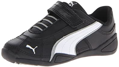 puma tune cat b 2 velcro sneaker (toddler little kid)