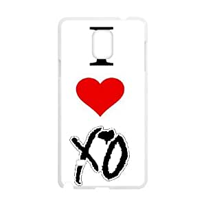 DIY phone case The Weeknd XO cover case For Samsung Galaxy Note 4 N9100 AS1O7748911