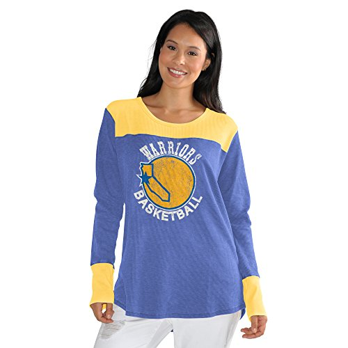 (Touch by Alyssa Milano NBA Golden State Warriors Blindside Thermal Plus, 4X, Royal)