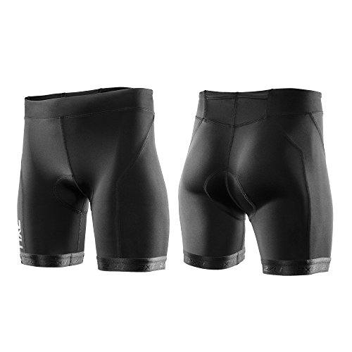 2XU Women's Active Tri Shorts, Black/Black, - Womens Shorts Tri