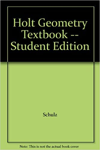 Holt Geometry Textbook Student Edition Books