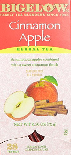 Bigelow Cinnamon Apple Herb Tea (Box of 28)