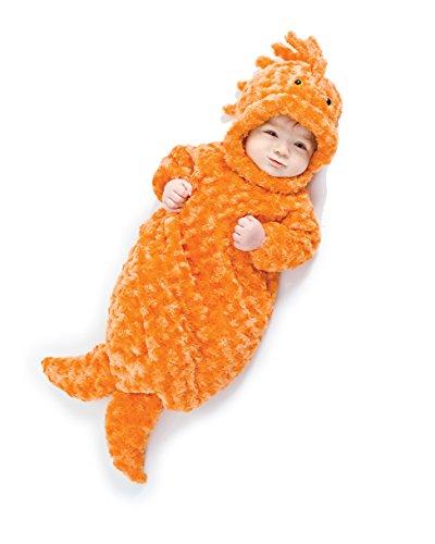 Underwraps Baby's Gold Fish Bunting, Orange,