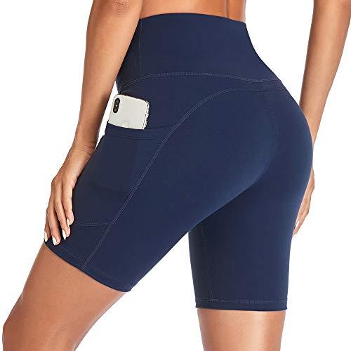 Gimdumasa Korte Sportbroek Dames Hoge Taille Running Shorts voor Vrouwen Tummy Control Fietsshorts Sports Workout…