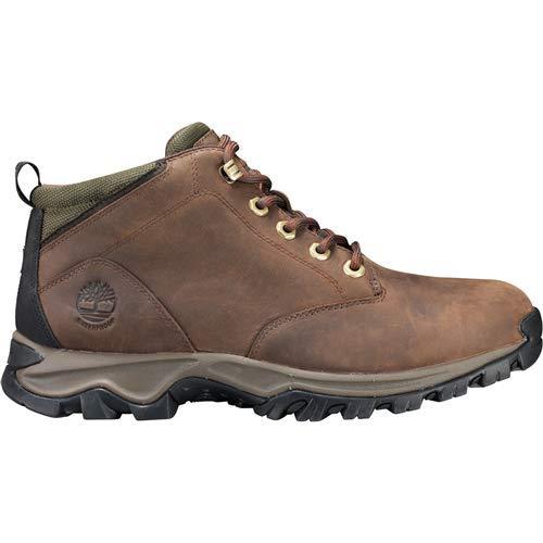 Timberland Men's Mt. Maddsen Waterproof Chukka Boot, Dark Brown Full Grain, 140M M US