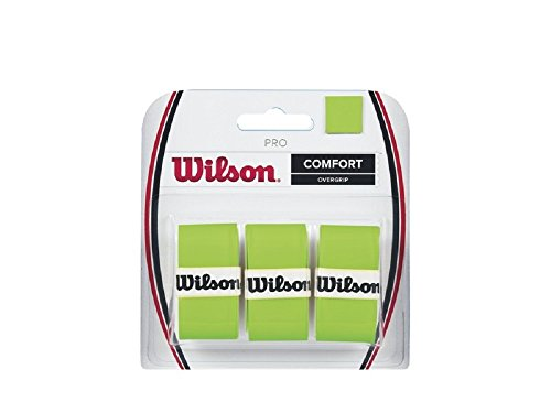 Wilson Pro Overgrip Blade Green (Pack of 3) (Green Wilson)