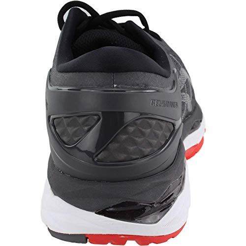 ASICS Gel-Kayano 24 Men's Running Shoe, Dark Grey/Black/Fiery Red, 6.5 M US by ASICS (Image #2)