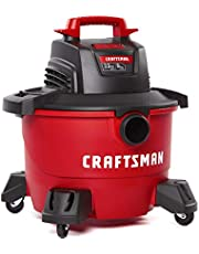 CRAFTSMAN 22 Litre (6 Gallon) 3.5 Peak HP Wet/Dry Vac, Shop Vacuum for General Use/Car Cleaning with Attachments (CMXEVBE17584) - Ideal for Car Cleaning, Home, Pool, Hot Tub and Other Projects