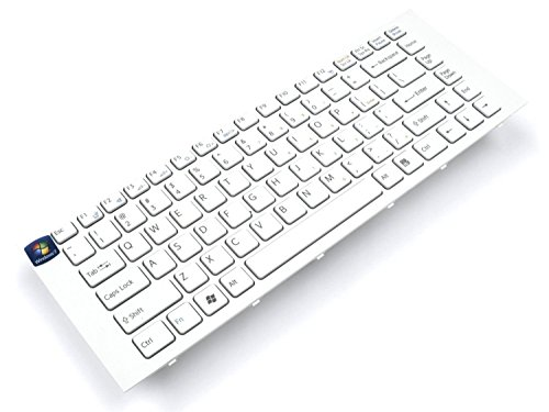 New US Layout White Keyboard with Frame for Sony Vaio VPCEG VPC-EG Vaio PCG-61911L PCG-61913L PCG-61A11L PCG-61A12L PCG-61A13L PCG-61A14L Compatible P/N: 9Z.N7ASW.101 148970211 SF1SW SF3SW. PCRepair -  PCR-SKU-001266