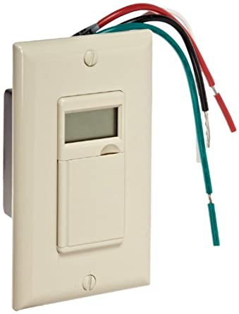 Morris Products 80510 7 Day Heavy Duty In Wall Timer, Ivory