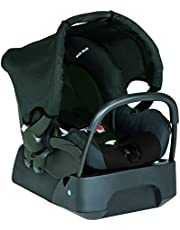 Safety 1st One Safe Newborn Baby Capsule with Stay-in-car Base, Black