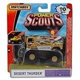 Matchbox Power Scouts Adventure System Desert Thunder Truck!! by Matchbox