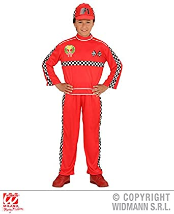 xl boys formula 1 driver costume for f1 racing car sports fancy dress outfit extra large 158cm 11 13yrs childs kids amazoncouk clothing