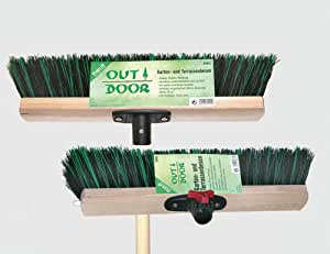 Gartenbesen gr/sw 40cm Flex-Solution, OUTDOOR