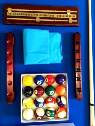 Simba 8 Piedi Vintage Blu- Mesa de billar profesional, 220 x 110 ...