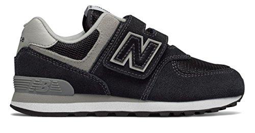 オーガニックレタッチ足音(ニューバランス) New Balance 靴?シューズ レディースランニング 574 Core Black with Grey ブラック グレー US 11.5 (28.5cm)