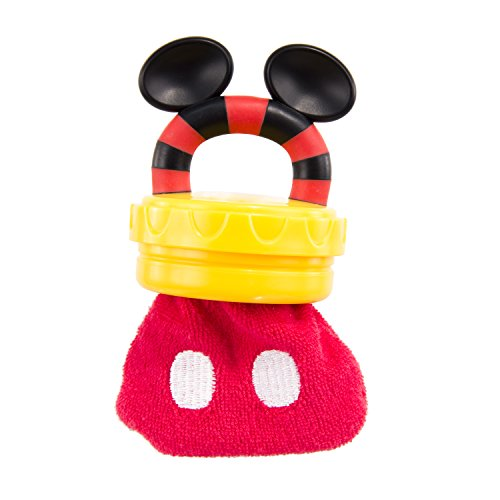 Disney Mickey Mouse Terry Teether with Handle, Red by Disney (Image #3)