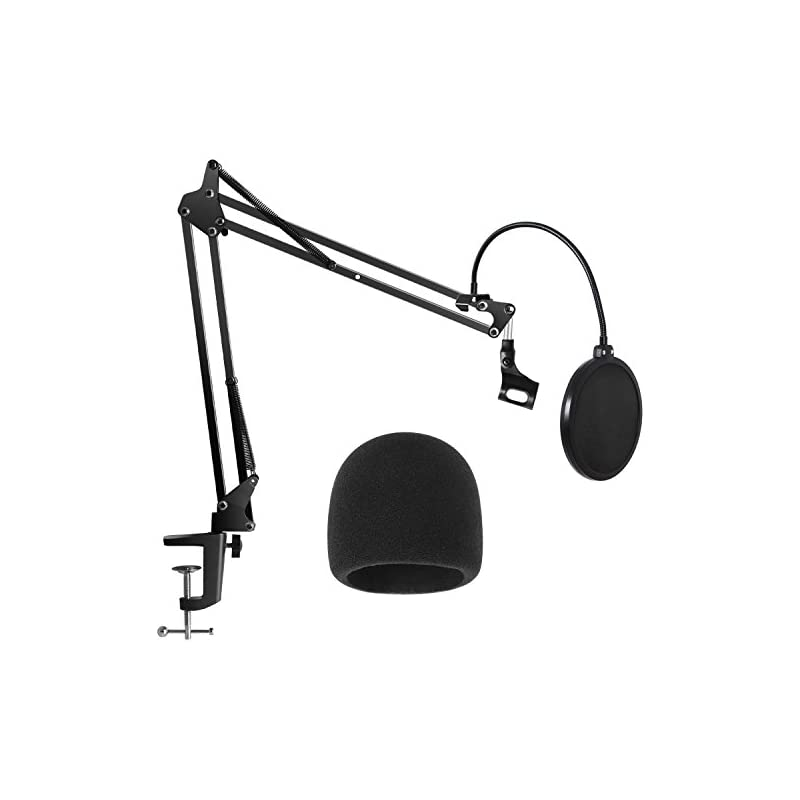 InnoGear Heavy Duty Microphone Stand wit
