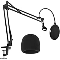 InnoGear Heavy Duty Microphone Windscreen and Dual...