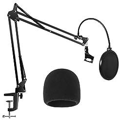 InnoGear Heavy Duty Microphone Stand wit...
