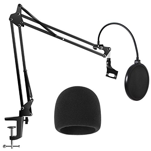 10 best microphone table stand pop filter