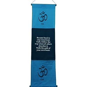 Amazon.com: Grande de Algodón Harmony Inspirational Yoga ...