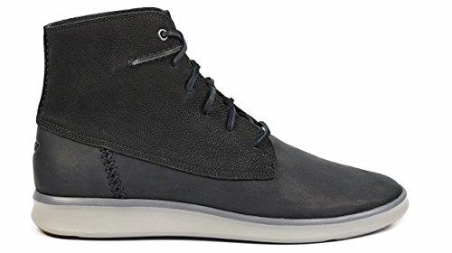 Ugg Australia Men's Lamont Black Leather Men's Boots 100% Leather Black