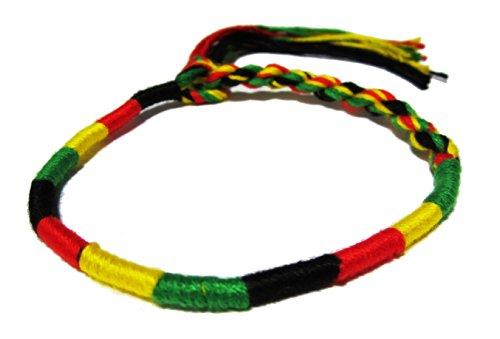 Handmade Rasta Bracelet Jamaican Style Rasta Jamaican Bracelet Reggae Bracelet Rasta Jewelry