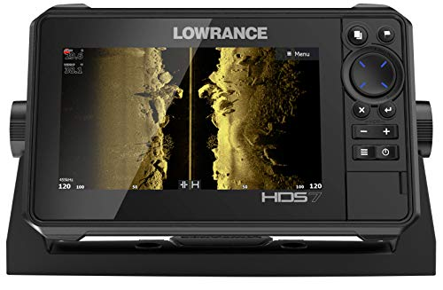 HDS-7 Live - 7-inch Fish Finder with Active Imaging 3 in 1 Transducer with Active Imaging Sonar, FishReveal Fish Targeting and Smartphone Integration. Preloaded C-MAP US Enhanced Mapping. ...