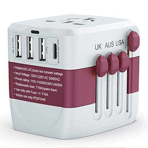 Universal Travel Adapter 2400W, ...