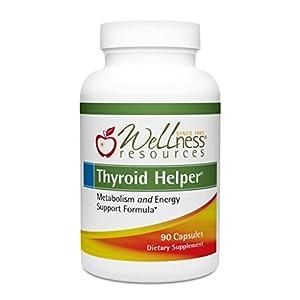 Thyroid Helper – Natural Supplement for Metabolism & Energy (90 Capsules)