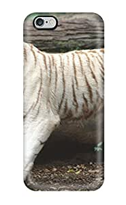 monica i. richardson's Shop New Style 4612766K98756663 Case Cover Protector Specially Made For Iphone 6 Plus White Bengal Tiger