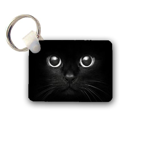 Black Cat Keychain Key Chain Great Gift Idea