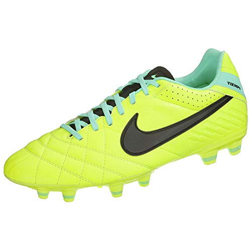 NIKE Men's Tiempo Mystic IV FG Firm Ground Soccer Shoes - Volt (7)