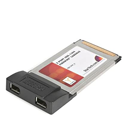 Image Unavailable Not Available For Color StarTech 2 Port CardBus Laptop 1394a Firewire PC
