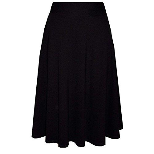 Milano Womens Skirt (Patrizia Luca Milano Womens A-Line Skirt Black Extra Small)