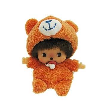 Sekiguchi Monchhichi – Muñeco Peluche Animal Disfraz oso Bebichhichi Boy de peluche