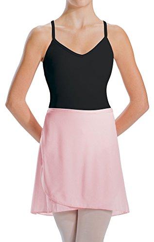 Motionwear Wrap (Motionwear Women's Wrap Tie Sheer Dance Skirt M BLUE)