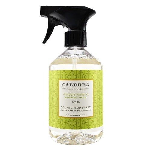 Caldrea Ginger Pomelo Fragrance No. 15 Countertop Cleanser 16 fl oz -Pack 4 ()