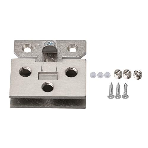 - Stainless Steel Wall Mount Glass Wall to Door Clamp Glass Hinge