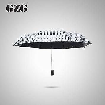 Huihong Paraguas Plegable Sunscreen Sol Paraguas Paraguas Personalizados